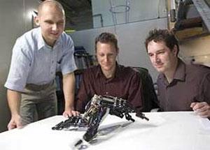 cornell learning robot
