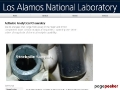 Actinide Analytical Chemistry at LANL
