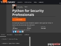 Python Course for Security Professionals