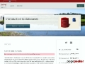 Stanford Lagunita - Introduction to Databases (2014)