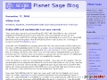 Planet Sage