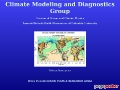 LDEO Climate Modeling and Diagnostics Group