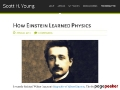 How Einstein Learned Physics
