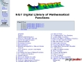 NIST Digital Library of Mathematical Functions