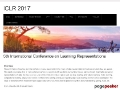 5th International Conference on Learning Representations (ICLR 2017)