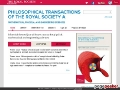 Philosophical Transactions of the Royal Society A