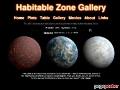 Habitable Zone Gallery